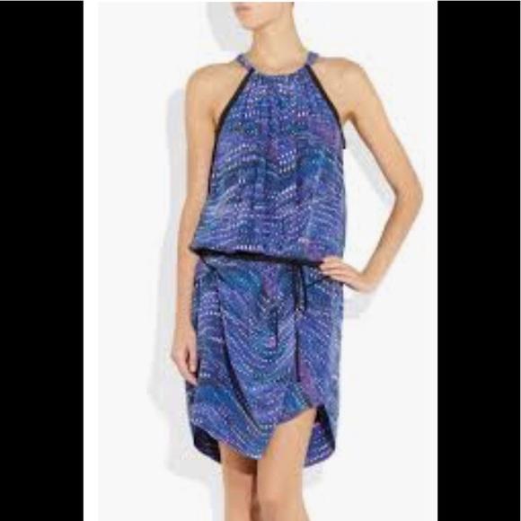 10aadfc6ec2c See By Chloe Las Vegas Print Silk Dress